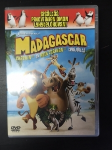 Madagascar DVD (G/M-) -animaatio-