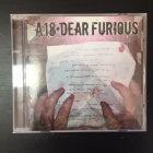 A18 - Dear Furious CD (VG+/VG+) -hardcore-