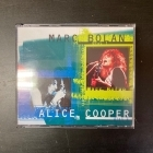 Marc Bolan / Alice Cooper - Marc Bolan / Alice Cooper 2CD (VG+-M-/M-) -glam rock/hard rock-