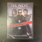 Blade Trinity (unrated version, special edition) 2DVD (VG/M-) -toiminta-
