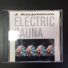 J. Karjalainen Electric Sauna - J. Karjalainen Electric Sauna CD​ (VG/VG+) -suomirock/folk rock-