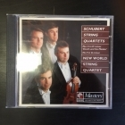 New World String Quartet - Schubert: String Quartets No.14 & 9 CD (VG/VG+) -klassinen-