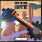 Big Country - Steeltown LP (VG+/G) -alt rock-