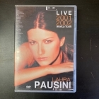 Laura Pausini - Live 2001/2002 World Tour DVD (G/M-) -pop-