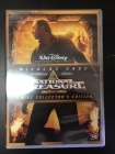 National Treasure - Kansallisaarre (collector's edition) 2DVD (M-/M-) -seikkailu-