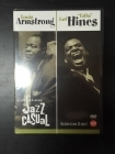 "Louis Armstrong / Earl ""Fatha"" Hines - Ralph J. Gleason's Jazz Casual DVD (VG+/M-) -jazz-"