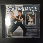 Graham Dalby And The Grahamophones - Let's Dance 3 CD (M-/VG+) -iskelmä-