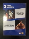 Saturday Night Fever / Staying Alive 2DVD (VG/M-) -draama-