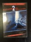 Paranormal Activity 2 DVD (M-/M-) -kauhu-