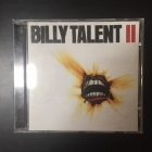 Billy Talent - II CD (VG/M-) -alt rock-