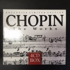 Chopin - The Works 4CD (VG+-M-/VG+) -klassinen-