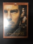 Collateral (special edition) 2DVD (VG+/M-) -jännitys-