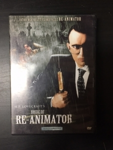 Bride Of Re-Animator DVD (VG+/M-) -kauhu-