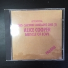 Alice Cooper - Muscle Of Love CD (VG/M-) -hard rock-