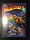 Madagascar 3 DVD (G/M-) -animaatio-