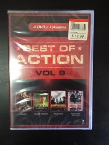 Best Of Action - Vol 9 (Erased / Olimme sotilaita / Killer Elite / From Paris With Love) 4DVD (avaamaton) -toiminta-