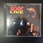 AC/DC - Live (special collector's edition) 2CD (VG-VG+/VG) -hard rock-