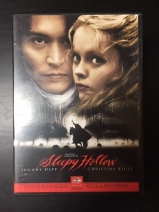 Sleepy Hollow DVD (VG+/M-) -kauhu-