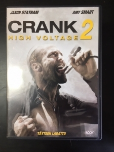 Crank 2 - High Voltage DVD (VG+/M-) -toiminta-