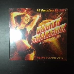 Party Shakerz (This Is Nightlife) 2CD (avaamaton)
