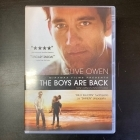 Boys Are Back DVD (VG/M-) -draama-