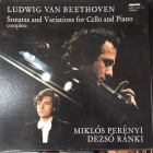 Miklos Perenyi & Dezso Ranki - Beethoven: Sonatas And Variations For Cello And Piano (Complete) 3LP (M-/VG+) -klassinen-