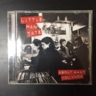 Little Man Tate - About What You Know CD (VG+/M-) -indie rock-