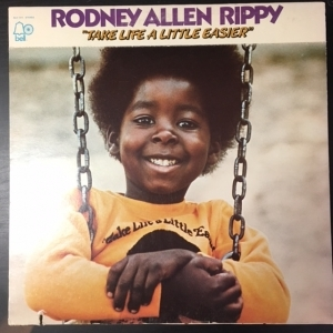Rodney Allen Rippy - Take Life A Little Easier LP (VG+-M-/VG+) -pop-