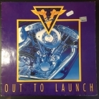 V2 - Out To Launch LP (VG+/VG) -heavy metal-