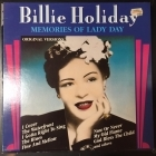 Billie Holiday - Memories Of Lady Day LP (VG/VG+) -jazz-