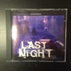 Last Night - Original Motion Picture Soundtrack CD (VG/M-) -soundtrack-