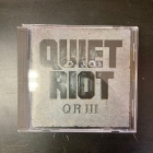 Quiet Riot - QR III CD (VG+/M-) -prog metal-