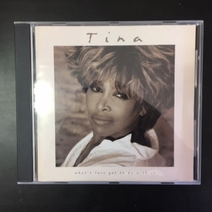 Tina Turner - Whats Love Got To Do With It CD (VG+/VG+) -pop rock-