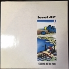 Level 42 - Staring At The Sun LP (VG+/VG+) -jazz-funk-