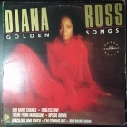 Diana Ross - Golden Songs LP (VG-VG+/VG+) -soul-