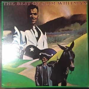 Slim Whitman - The Best Of LP (VG+/VG+) -country-