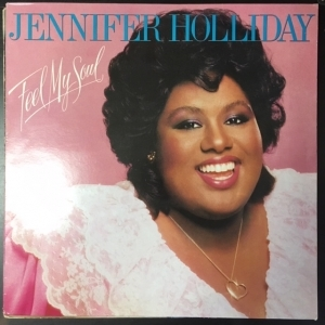 Jennifer Holliday - Feel My Soul LP (VG/VG+) -soul-