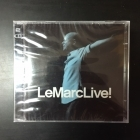 Peter LeMarc - LeMarcLive! 2CD (avaamaton) -pop rock-