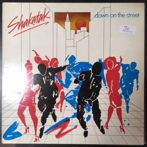Shakatak - Down On The Street LP (G/VG+) -jazz-funk-