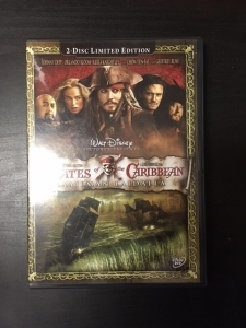 Pirates Of The Caribbean - Maailman laidalla (limited edition) 2DVD (VG+/M-) -seikkailu-
