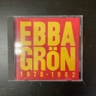 Ebba Grön - 1978-1982 CD (VG/VG+) -punk rock-