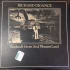 Richard Digance - England's Green And Pleasant Land LP (VG-VG+/VG+) -folk rock-