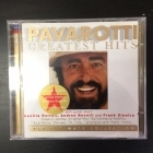Luciano Pavarotti - Greatest Hits 2CD (VG-VG+/VG+) -klassinen-