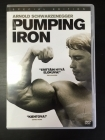Pumping Iron (special edition) DVD (M-/M-) -dokumentti-
