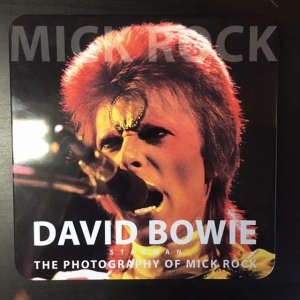David Bowie - Starman (The Photography Of Mick Rock) (collectors vinyl set) (tin box, red vinyl) 7 (M-/M-) -alt rock-