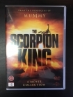 Scorpion King - Collection (1-4) 4DVD (VG+/M-) -seikkailu-