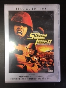 Starship Troopers (special edition) DVD (M-/M-) -toiminta/sci-fi-