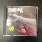Pantera - Vulgar Display Of Power CD (VG/VG+) -groove metal-