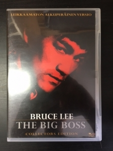 Big Boss (collectors edition) DVD (VG+/M-) -toiminta-