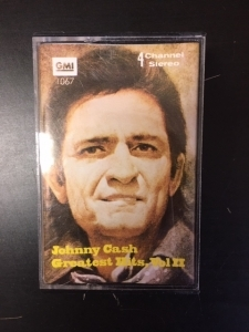 Johnny Cash - Greatest Hits Vol.II C-kasetti (VG+/VG+) -country-